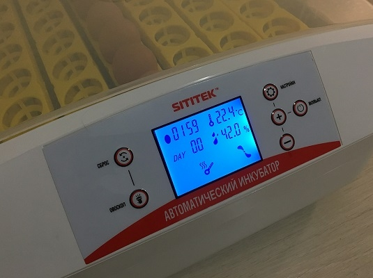 Цифровой инкубатор с овоскопом и автоматическим переворотом SITITEK 56 LED - 6
