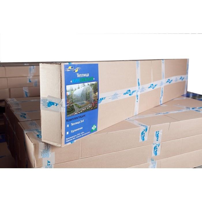 Теплица Киновская 3Х6м из сотового поликарбоната 4мм, 07 кг/м2 - 2