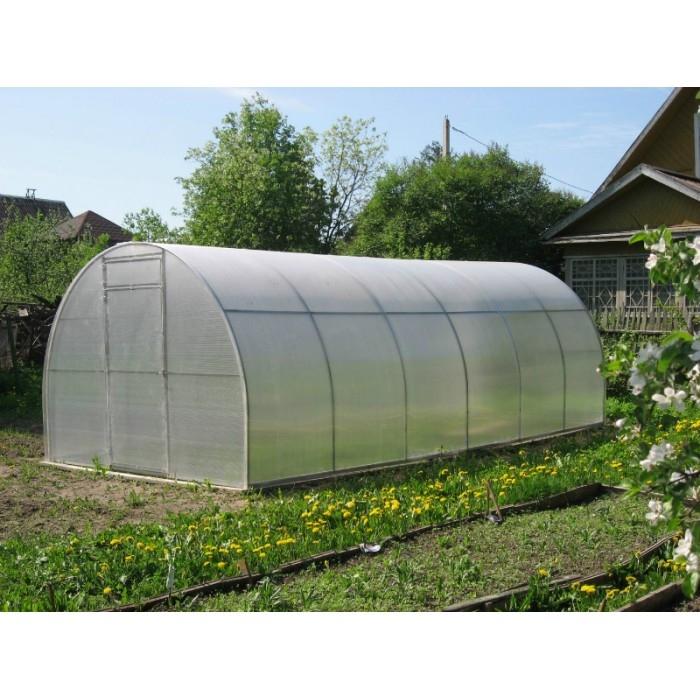 Теплица Киновская 3Х6м из сотового поликарбоната 4мм, 07 кг/м2 - 3