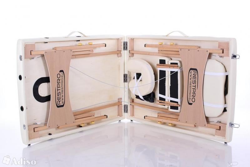 Портативный массажный стол RESTPRO Classic-2 кремовый - 1