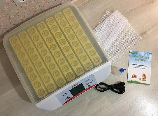 Цифровой инкубатор с овоскопом и автоматическим переворотом SITITEK 56 LED - 10